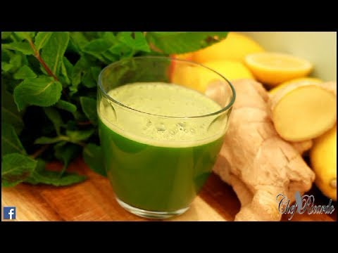 Flat Tummy With Cucumber Drink | Recipes By Chef Ricardo
