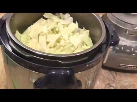Smoked Sausage & Cabbage Under Pressure