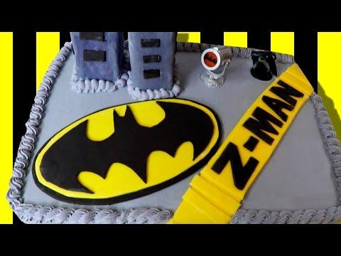 Awesome BATMAN Birthday CAKE!!