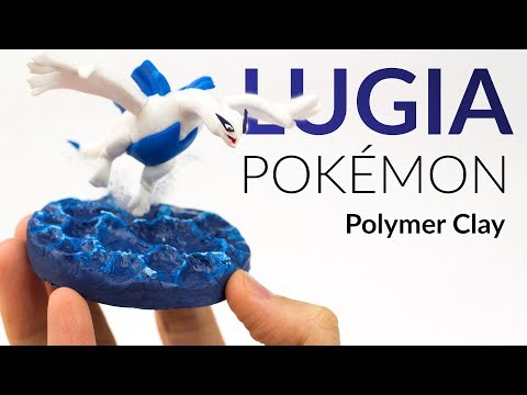 Lugia (Pokemon) & Ocean Water Effect – Polymer Clay Tutorial