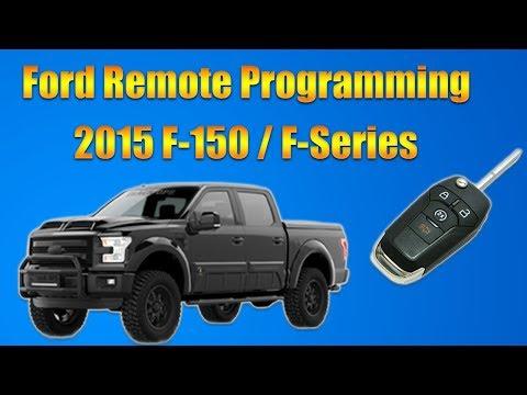 2015 Ford F150 Remote Programming
