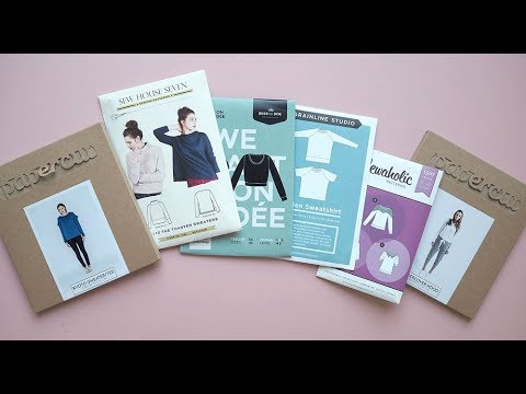 Laurens Top Tips - Choosing  a jumper or sweater sewing pattern