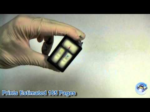 Inside HP 22 Tri-Colour Ink Cartridge (C9352AE)