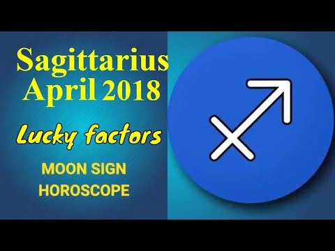 Sagittarius April 2018 Horoscope | Dhanu Rashi Moon Sign, Lucky Numbers, Colors, Gemstones and Days