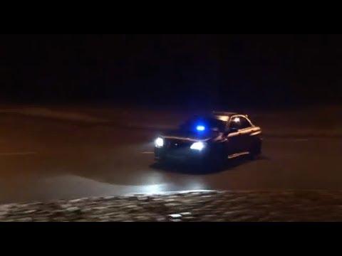 Subaru Turbo Drift - Subaru Impreza WRX STI drift