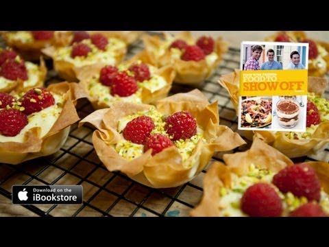 Raspberry Tartlets Recipe: Food to Show Off