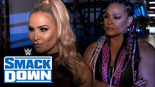 Natalya & Tamina send a message of strength: SmackDown Exclusive. March 5, 2021