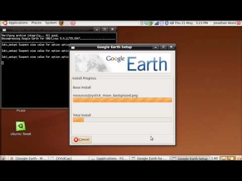 How to: install bin file ubuntu 9.04