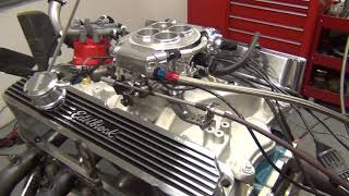 Peter's Holley fuel-injected stacked 427 small block Ford on