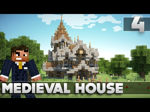 Minecraft: Small Survival Medieval House Tutorial Ep. 4 XBOX 360/PS3/PE/PC