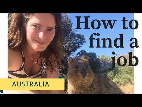 How to find work in Australia (The best kept secret)
