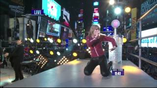Taylor Swift LIVE HD (New York City: New Year's Eve) - Performs Her NEW 2 Hit Songs 2012