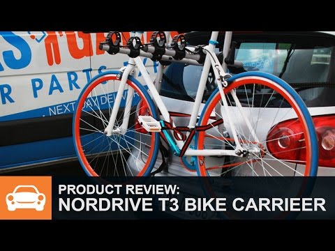 Product Review: Nordrive Follow Me T3 Bike Carrier