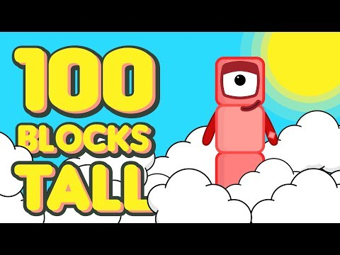 Xxx Mp4 One Hundred Blocks Tall Numberblocks Fanmade Animation 3gp Sex