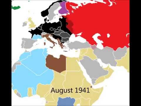 Map of second world war europe map eastern europe 1939 animated map wwii in europe 1939 1945 gumiabroncs Gallery