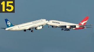 Top 15 AIRCRAFT NEAR MISS AND UNUSUAL EVENTS