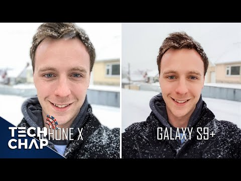 Samsung Galaxy S9 Plus vs iPhone X Camera Review | The Tech Chap