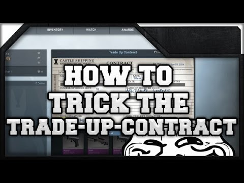 CS:GO - How to trick the Trade Up Contract