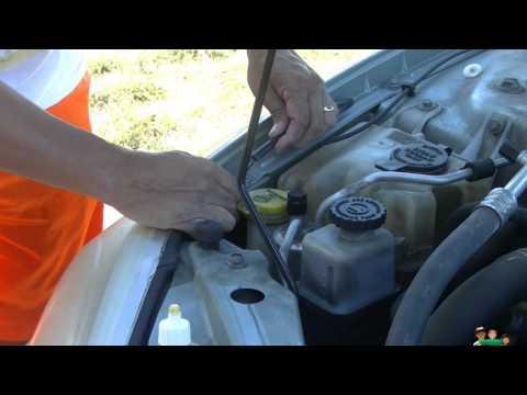 Windshield Wiper Hose Repair (crack) Cheap Fix