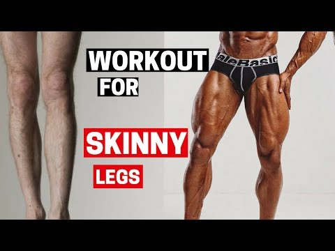 Workout for SKINNY Legs  - BUILD your Leg Muscles (NOW)