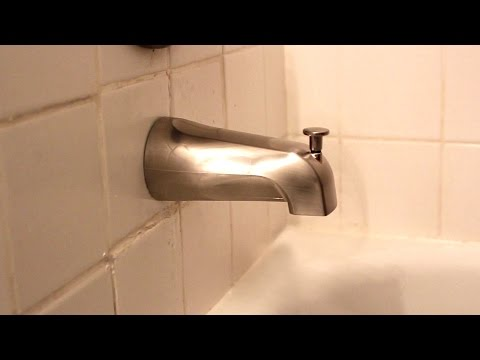 Bathtub spout replacement