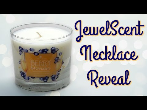 JewelScent Necklace Reveal - Berry Mimosa Candle!