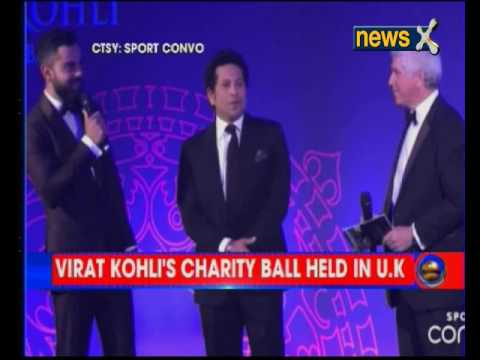 ICC: Indian Skipper Virat Kohli held charity event in support to fight Human Trafficking