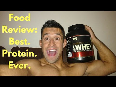 DWALLY19 Food Review Ep. 2: ON Gold Standard 100% Whey Protein Powder - Double Rich Chocolate