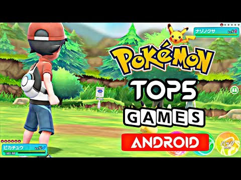 Top 5 Best Pokemon Games For Android 2019   High Graphics