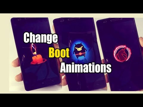 Change Boot Animations on Any Android Device
