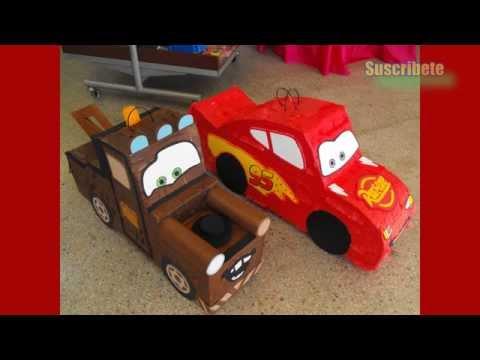Las Mejores Piñatas De Cars Y Rayo Mcqueen