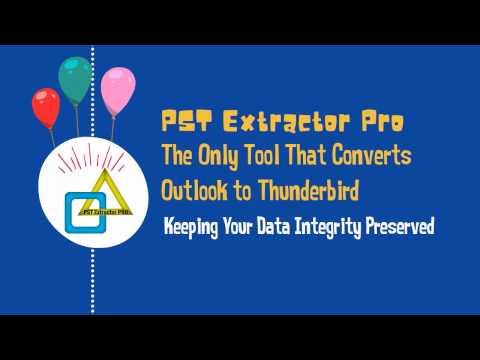 Convert Outlook to Thunderbird (Mails, Contacts, Calendars etc)
