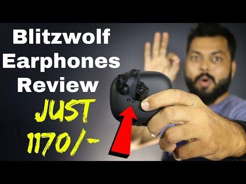 BEST EARPHONES UNDER Rs.1500? BLITZWOLF BW-ES2 EARPHONES REVIEW