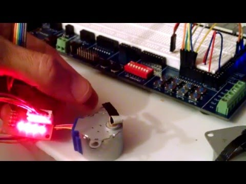 Control a stepper motor with a Parallax Propeller microcontroller, SimpleIDE and C C++