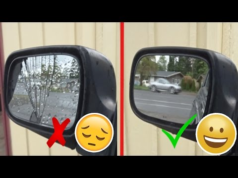 HOW TO REPAIR AND REPLACE A BROKEN SIDE MIRROR GLASS [SUBARU IMPREZA]