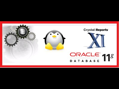 How to connect to Oracle 11g database from Crystal Report 11 release 2.