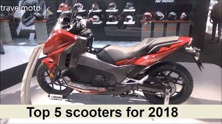 The Top 5 scooters for 2018
