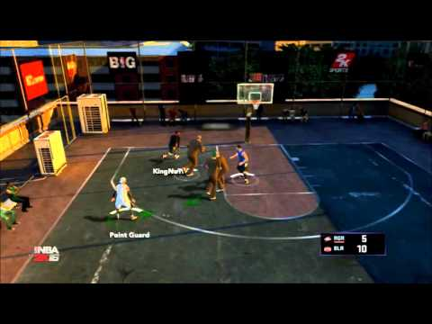 NBA 2K16 PS3 Blacktop: Great Teammate/Chemistry, Easy Pass/Win