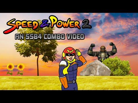 SPEED & POWER 2 - An SSB4 Captain Falcon Combo Video