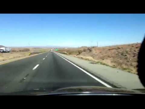 Phoenix Arizona to El Paso Texas, 445 Miles in 14minutes and 30seconds