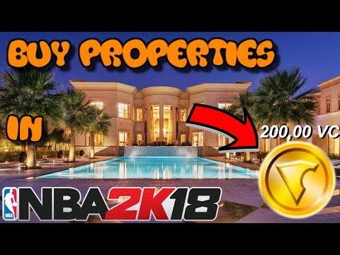 *NEW* HOUSES IN NBA 2K18?? | BUY PROPERTIES LIKE GTA !!!