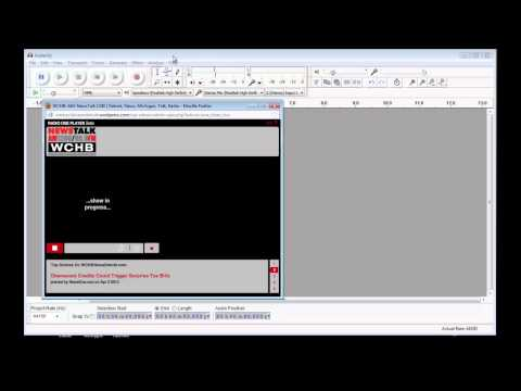 Recording System Audio with Audacity 2.0.3