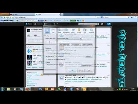 Tutorial: How to change Mozilla Firefox homepage