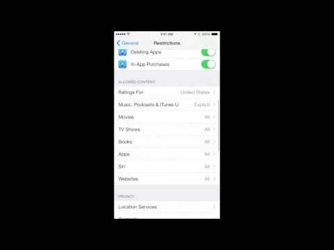 How to Set Restrictions on an iPhone or iPad