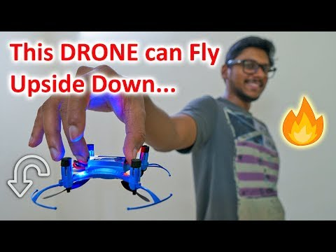 This DRONE can Fly Upside Down...