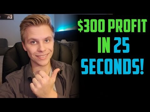 $310 IN 25 SECONDS | How To Day Trade Penny Stocks Online