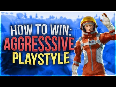 HOW TO WIN   Aggressive Tips and Tricks (Fortnite Battle Royale)