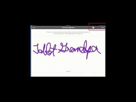 PDF Expert-Writing Signatures