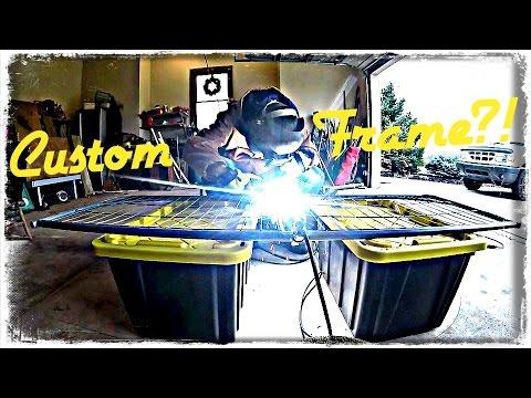 Welding a Custom Go Kart Frame  -  Go Kart Build Series Two