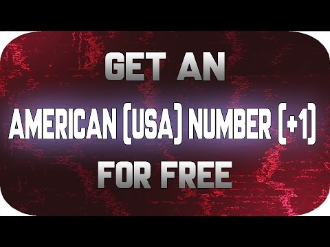 HOW TO GET AN USA NUMBER FOR FREE    FREE CALLING WITHOUT MONEY  